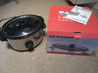 Breville slow cooker 4.5 litre with automatic option