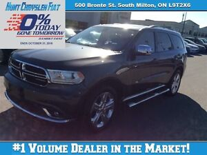 2014 Dodge Durango LIMITED, SUNROOF, 8.4, TOW, LEATHER & MORE!!!
