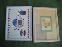 Two Lovely Lap Dining Trays - £5.00 each or 2 for £8.00