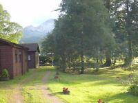 Holiday lets, Mountain Chalets, Highlands, Kinlochewe, last minute deals, late Easter availability