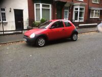 05 FORD KA 1.3 , 81,000 MILES , DRIVES SUPERB , MOT UNTIL APRIL 2018 , SERVICE HISTORY, £495