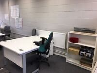 Light and spacious DESK SPACE + free parking - St Albans. AVAILABLE NOW!