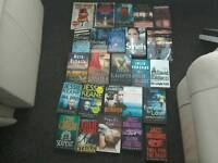 25 BOOKS ALL IN GOOD CONDITION