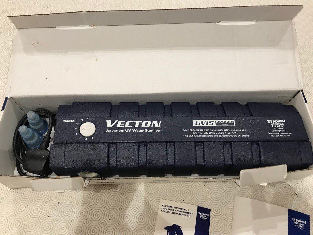 TMC Vecton 15w UV for Aquariums. Used.