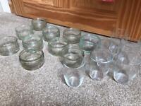 Bundle of Glass Ramekins