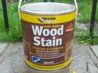 EverBuild Walnut Satin Wood Stain, 2.5 Litre