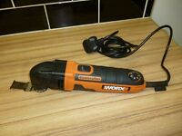 Worx WX668 Sonicrafter multi tool brand new never been used
