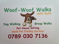 Dog Walking & House Sitting in your own home (Ellon & surrounding areas)