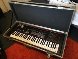 Roland JX-3P Vintage Analog Synth w/Flight case and Stand (Mint condition)
