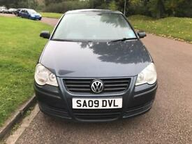 2009 Vw polo 1.2 petrol, Full service history, 1 yr MOT, Excellent condition ••£2000••