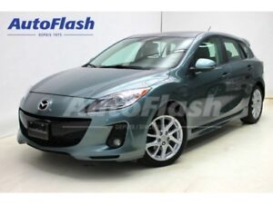 2012 Mazda MAZDA3 GT 2.5L  * Cuir/Leather* Toit-Ouvrant  * Clean