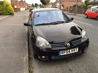 Renault Sport Clio 182 Black Gold. MOT Oct 17, Climate Control, Cruise Control, Auto Lights/Wipers