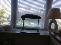 Fish tank 48ltr used for 3 weeks still like new tank only