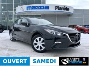 2015 MAZDA 3 GX MANUELLE AIR CRUISE USB