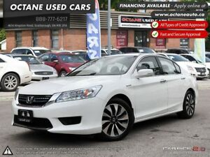 2015 Honda Accord Hybrid Touring ACCIDENT FREE! ONE OWNER! FU...
