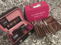 MAC MAKE UP BOX #MAC BRUSHES EYELINER MUSKARA £30