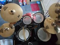 Mapex Armory 5 piece. Hardware and cymbals included