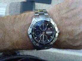 Tag Heuer Aquaracer automatic wristwatch
