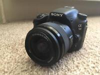 Sony a58 with 18-55mm Lens [Dslr]