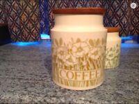 Hornsea Fleur canisters