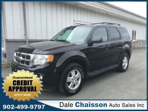 2012 Ford Escape XLT, V6, All Wheel Drive, Leather & Sunroof)