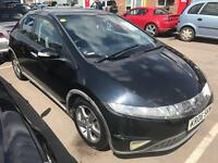 2007 Honda Civic Es. Immaculate MOT. TAX. NEW CLUTCH ALLOYS PUSH BUTTON START 1 Owner