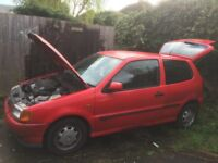SPARE or REPAIR. the car was perfect but not driven nearly a year. good engine and AUTO gearbox