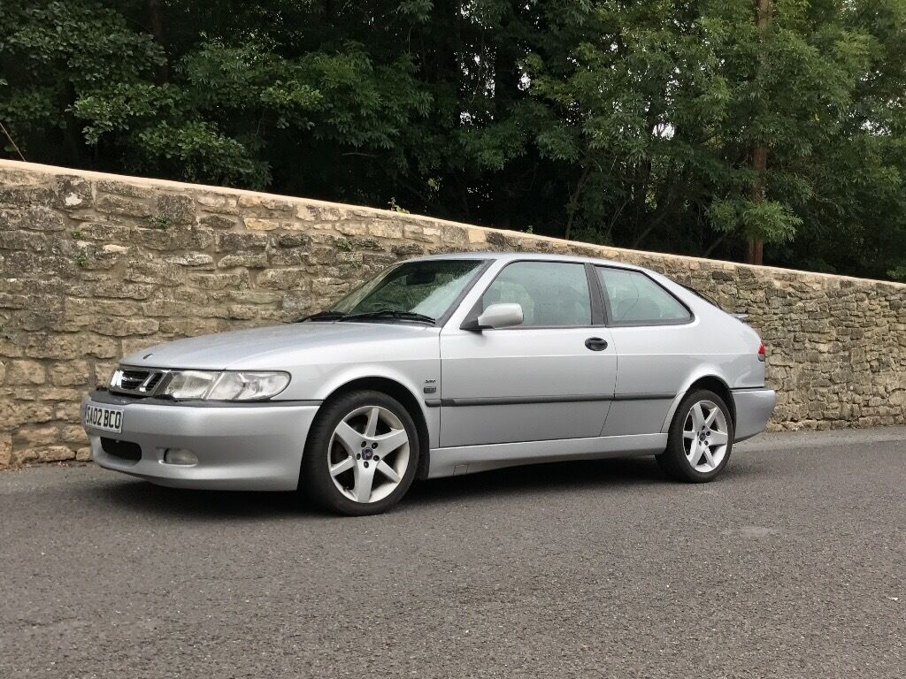 saab 9 3 aero hot turbo coupe for sale 2002 in bath. Black Bedroom Furniture Sets. Home Design Ideas