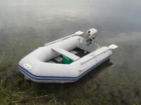 WaveEco Inflatable Rib Boat with Honda Outboard