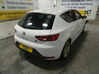 2015 Seat Leon Mk3 (5F) TDi FR Technology Breaking For Parts Engine CUPA Tailgate Door Light Alloy
