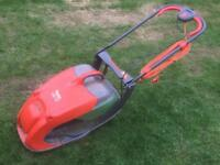Flymo lawnmower.