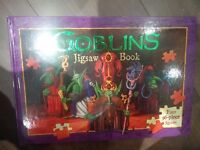 Goblin Jigsaw Book BRAND NEW