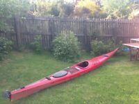 Sea Kayak fiberglass 17ft