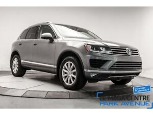 2015 Volkswagen Touareg 3.6L AWD, SPORTLINE, CUIR, TOIT PANO, MA