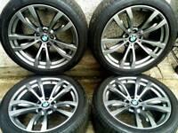 20 INCH 5X120 GENUINE STAGGERED BMW X5 E70, F15, F16 MSPORT ALLOY WHEELS