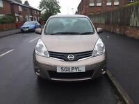Nissan note 1.4 petrol 5doors 2011 new shape
