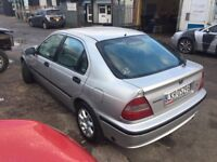 Lhd honda civic 1.6 petrol/gas
