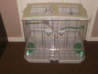 VISION BIRD CAGE WITH POTS AND PERCHES £30