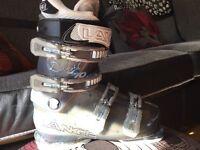 Ski Boots , ladies , never worn .