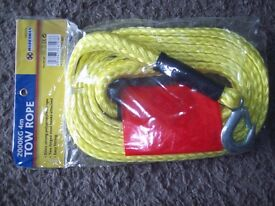 BRAND NEW 4 MTR TOW ROPE
