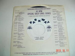 CHUBBY CHECKER 45 RPM PARKWAY RECORD - LIMBO ROCK & POPEYE Windsor Region Ontario image 2