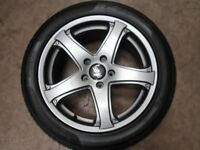 vw transporter t5 t6 oz racing alloys wheels and tyres