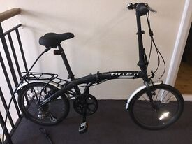 Carrera Intercity Folding Bike plus accessories - Excellent Condition