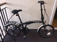 Carrera Intercity Folding Bike plus accessories - Excellent Condition