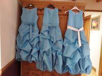 3 x girls prom / bridesmaid dresses
