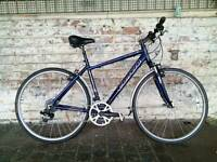 Men's hybrid Carrera crossfire 2 town and country bike