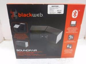 Blackweb Bluetooth Speaker Pair. We Buy and Sell Used Electronics and Equipment. 115316. CH615403.