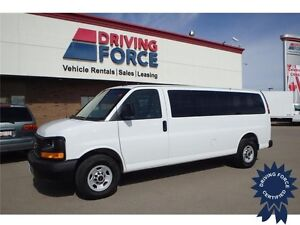 2015 GMC Savana LS 15 Passenger Rear Wheel Drive - 20,735 KMs