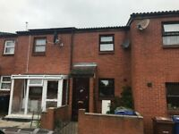 Very clean recently refurbished 2 Bed House unfurnished with garden and 3 parking spaces to let