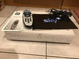 Sky + box and remote control